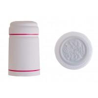 Termokapsle 28,5x30,8x55 mm bílá 1004, bílý top