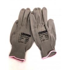 Stocker rukavice dámské šedé velikosti 8