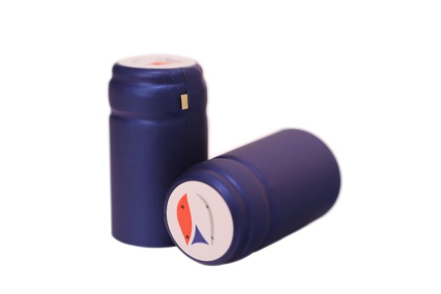 Termokapsle 28,5-30,8x55 mm modrá 3005, CZ top obrázek