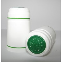 Termokapsle 28,5-30,8x55, bílá 1003, zelený top