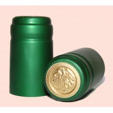 Termokapsle 28,5-30,8x55 mm zelená 2008, zlatý top