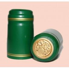 Termokapsle 28,5-30,8x55 mm zelená 2011, zlatý top
