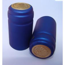Termokapsle 28,5-30,8x55 mm modrá 3005, zlatý top