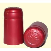 Termokapsle 28,5-30,8x55 mm červená 4006, červený top