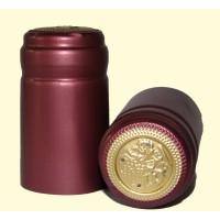 Termokapsle 28,5-30,8x55 mm červená 4009, zlatý top