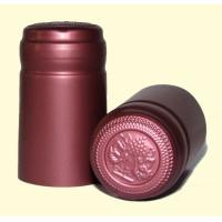Termokapsle 28,5-30,8x55 mm červená 4009, červený top