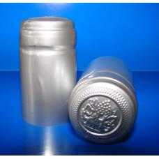 Termokapsle 28,5-30,8x55 mm stříbrná 6001, stříbrný top
