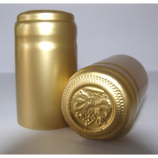 Termokapsle 28,5-30,8x55 mm zlatá 6003, zlatý top
