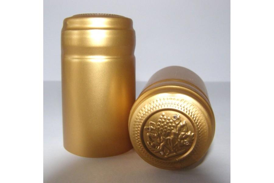 Termokapsle 28,5-30,8x55 mm zlatá 6004, zlatý top obrázek