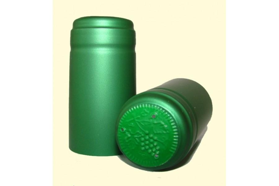 Termokapsle 30,5x60 mm zelená, zelený top obrázek