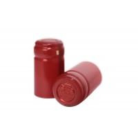 Termokapsle 28,5-30,8x55 mm červená 4001, červený top