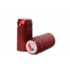 Termokapsle 28,5-30,8x60 mm červená 4004, CZ top