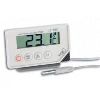 Laboratorní teploměr s teplotním čidlem+ alarm