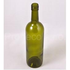 Láhev bordó olivová BVS 0,75 l šroub