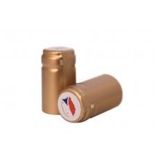 Termokapsle 28,5-30,8x55 mm zlatá 6004, CZ top