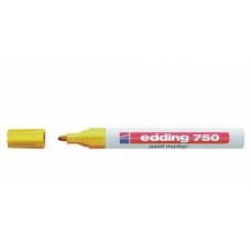 Popisovač žlutý, tenký, 1-2mm