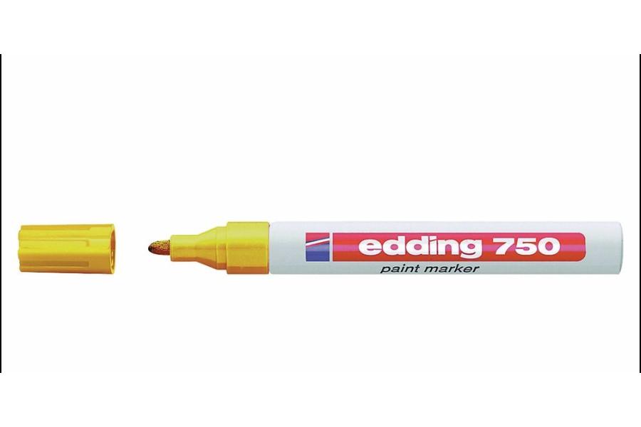 Popisovač žlutý, tenký, 1-2mm obrázek