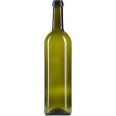 Láhev bordó olivová 0,75 l