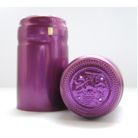 Termokapsle 28,5-30,8x55 mm fialová 3011, fialový top