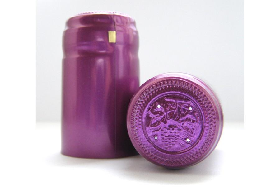 Termokapsle 28,5-30,8x55 mm fialová 3011, fialový top obrázek