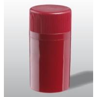 Novatwist šroubový uzávěr plast červený, matný