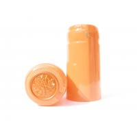 Termokapsle 28,5-30,8x55 mm oranžová 1014, oranžový top