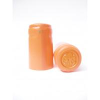 Termokapsle 28,5-30,8x55 mm oranžová matná 1013, oranžový top