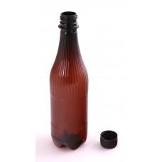 PET láhev na pivo 0,5 l včetně uzávěru