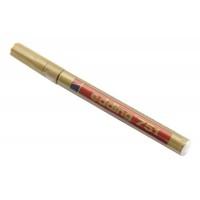 Popisovač zlatý, tenký, 1-2mm