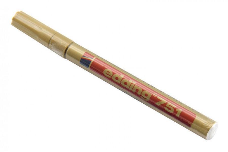 Popisovač zlatý, tenký, 1-2mm obrázek