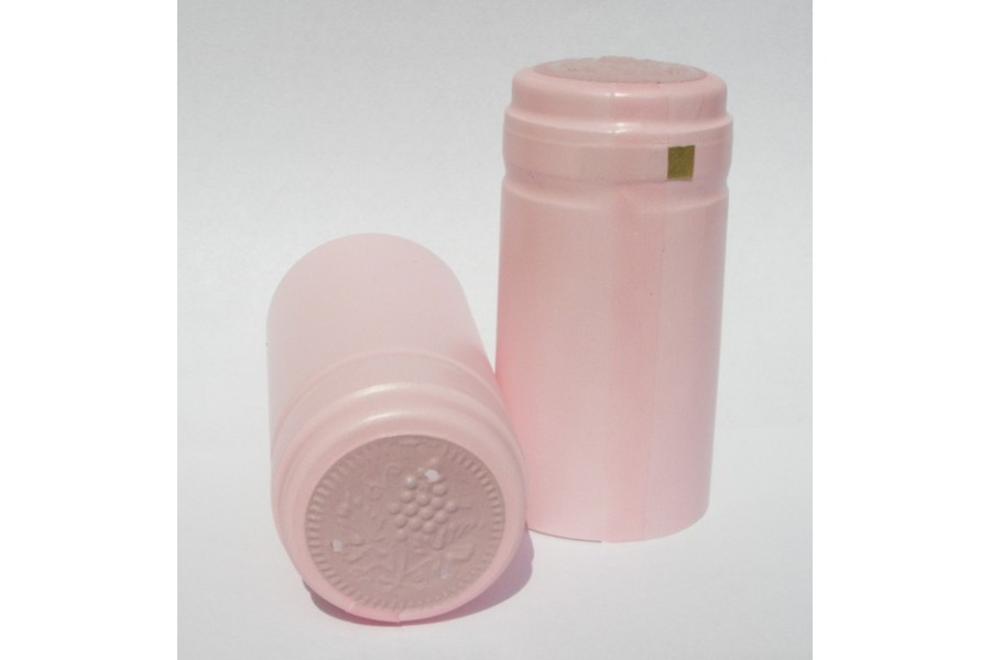 Termokapsle 30,5x60 mm růžová, růžový top obrázek