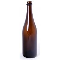 Sektová láhev 0,75 l hnědá