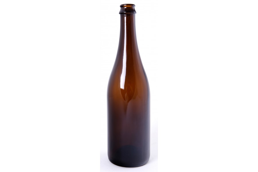 Sektová láhev 0,75 l hnědá  obrázek