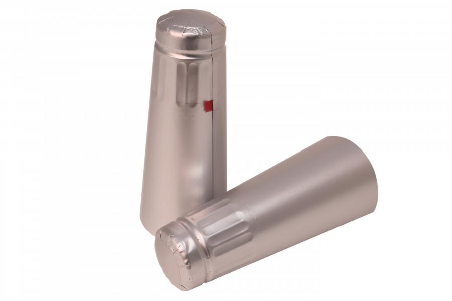 Sektová kapsle stříbrná 34,5x125 mm obrázek