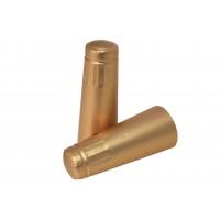 Sektová kapsle zlatá 34,5x125 mm