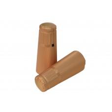 Sektová kapsle zlatá 34x120 mm (zrnitý efekt)