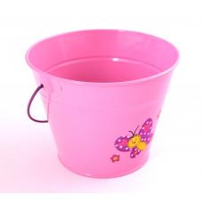 Stocker kyblík dětský růžový kov 4913