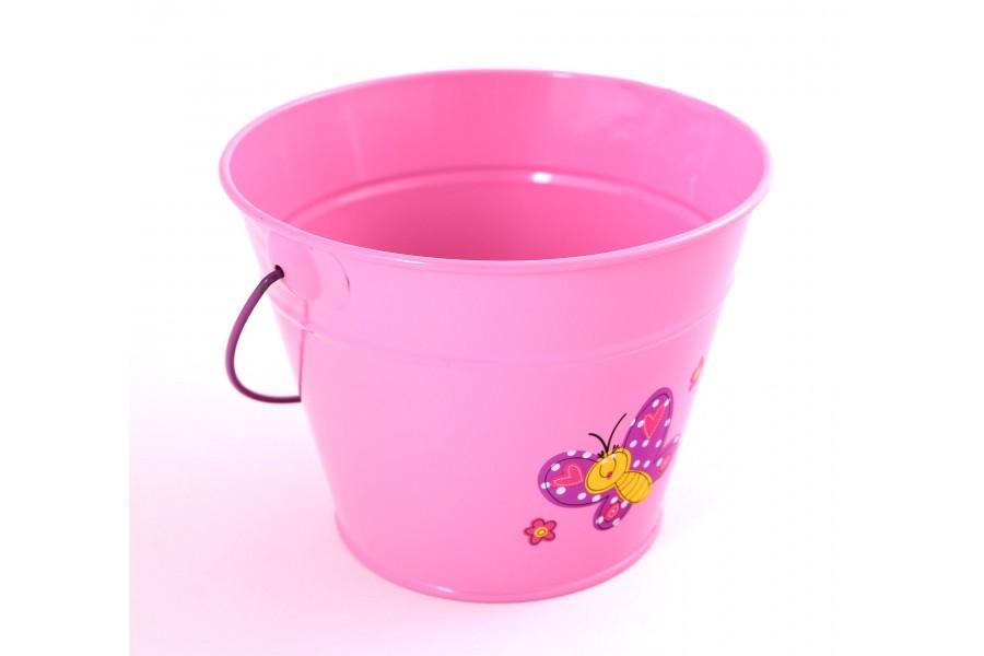 Stocker kyblík dětský růžový kov 4913 obrázek