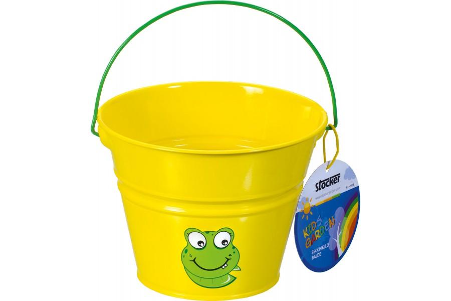 Stocker kyblík dětský žlutý kov 4915 obrázek