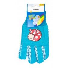 Stocker rukavice dětské modré 22058