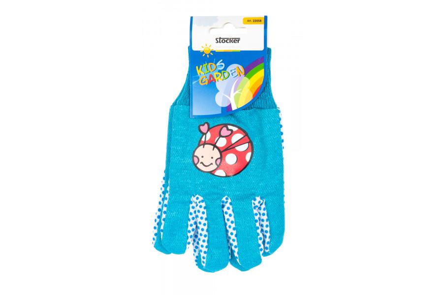 Stocker rukavice dětské modré 22058 obrázek