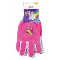 Stocker rukavice dětské růžové 22057