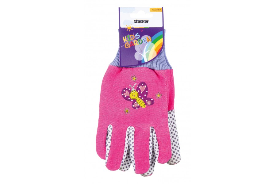 Stocker rukavice dětské růžové 22057 obrázek