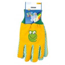 Stocker rukavice dětské žluté 22056