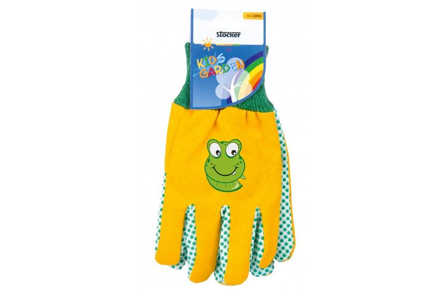 Stocker rukavice dětské žluté 22056 obrázek
