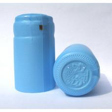 Termokapsle 28,5-30,8x55 mm světle modrá 3001, modrý top