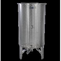 Nerezová nádoba 1100 l/ 3 ventily s duší