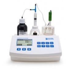 Titrátor pro měření oxidu siřičitého ve víně