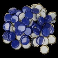 Uzávěr korunkový 26´ modrý (100 ks)