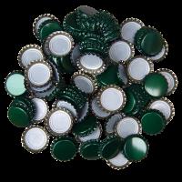 Uzávěr korunkový 29' zelený (200ks)
